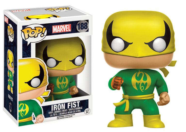 Marvel Comics POP! Marvel Vinyl Bobble-Head Iron Fist 9 cm