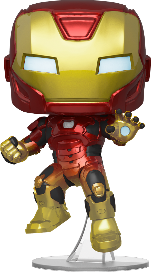 Marvel's Avengers (2020 video game) POP! Marvel Vinyl Figure Iron Man in Space Suit Limited 9 cm