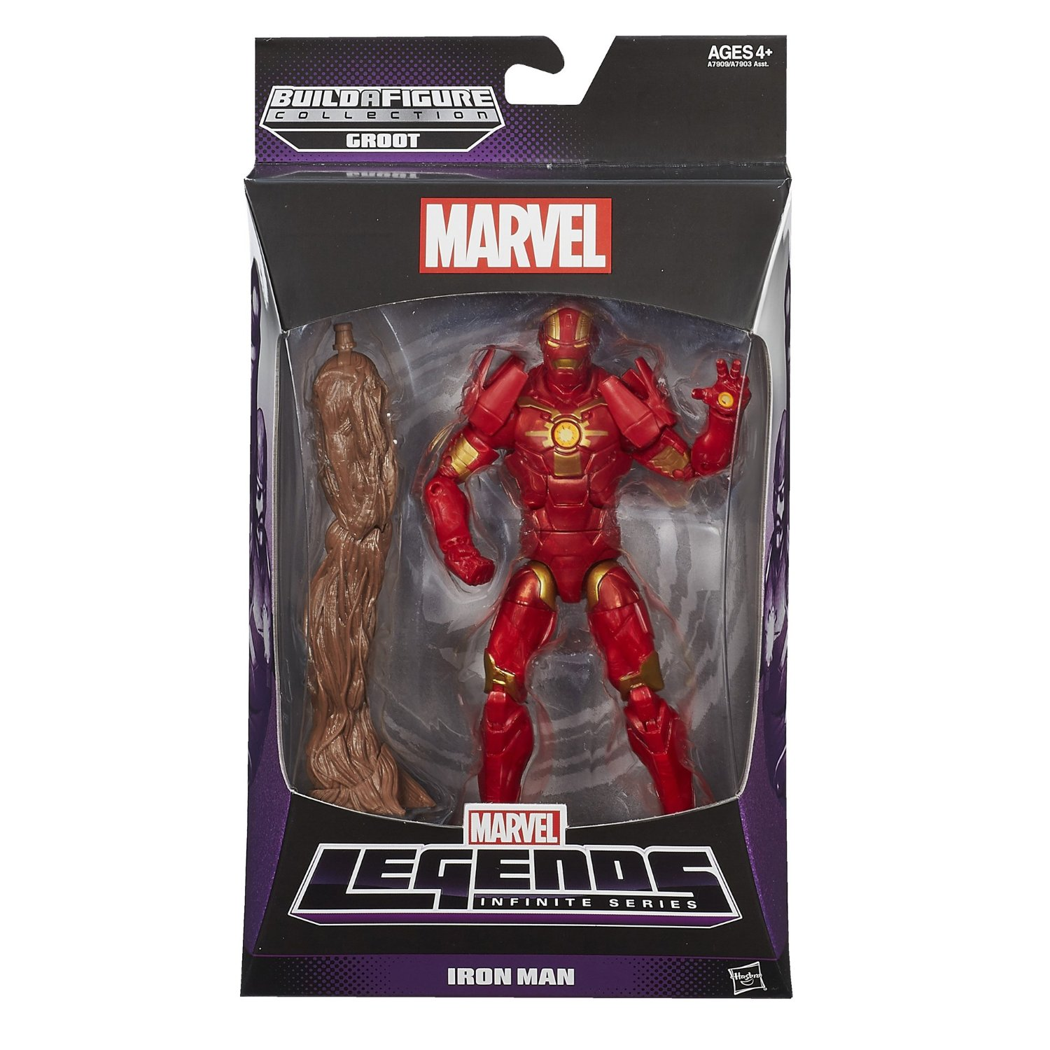 Guardians of the Galaxy Marvel Legends Wave 1 Iron Man Action Figure