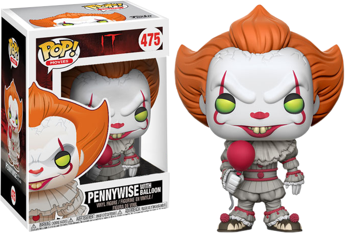 It POP! Movies Vinyl Figure Pennywise (with Balloon) Exclusive 9 cm