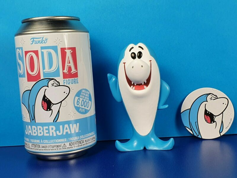 Hanna Barbera POP! Movies Vinyl SODA Figures Jabber Jaw 11 cm