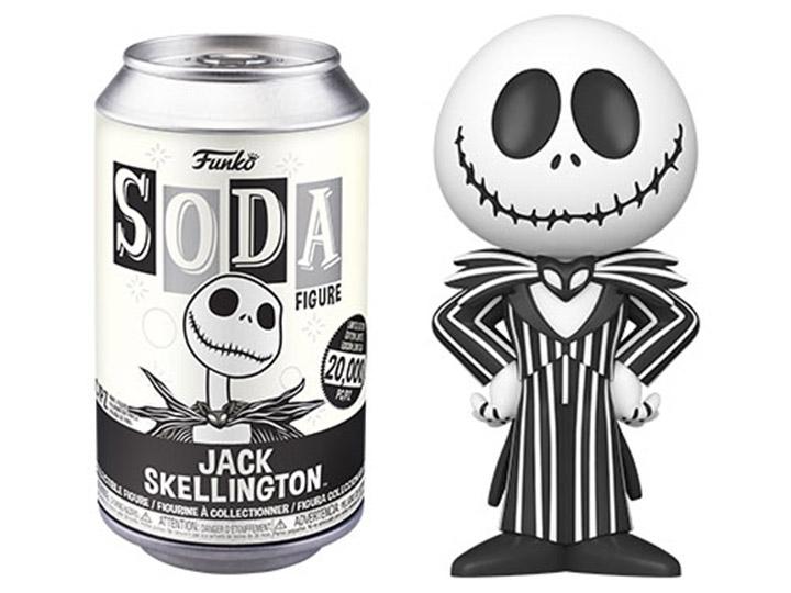 Nightmare before Christmas POP! Movies Vinyl SODA Figures Jack Skellington 11 cm