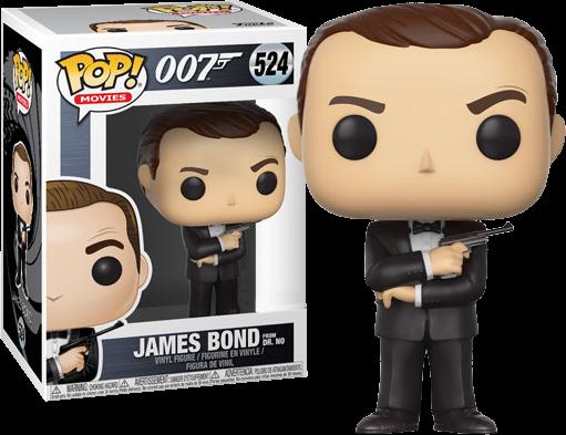 James Bond POP! Movies Vinyl Figure James Bond Dr. No (Sean Connery) 9 cm