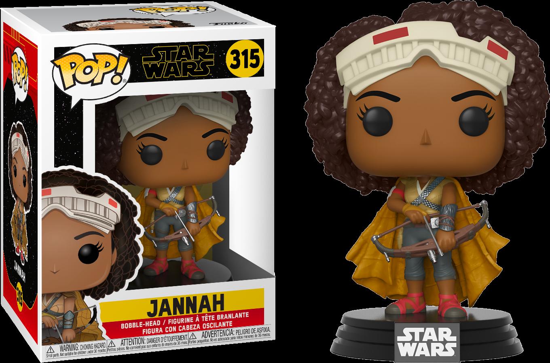 Star Wars Episode IX POP! Movies Vinyl Figure Jannah 9 cm