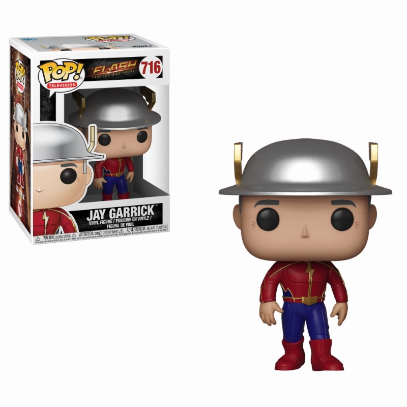 The Flash POP! Television Vinyl Figure Jay Garrick 9 cm