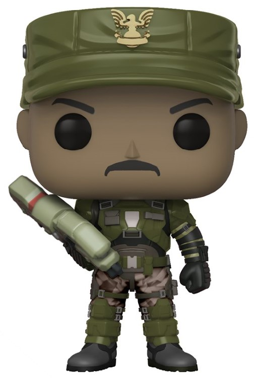 Halo POP! Games Vinyl Figures Sgt. Johnson 9 cm