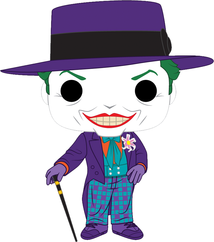 Batman 1989 POP! Heroes Figures Joker 9 cm