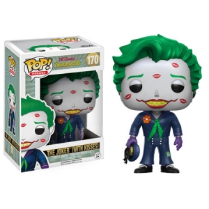 DC Comics Bombshells POP! Heroes Vinyl Figure Joker with Kisses 9 cm