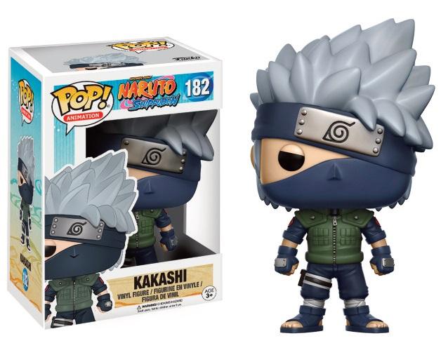 Naruto Shippuden POP! Animation Vinyl Figure Kakashi 9 cm