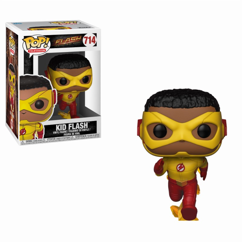 The Flash POP! Television Vinyl Figure Kid Flash 9 cm