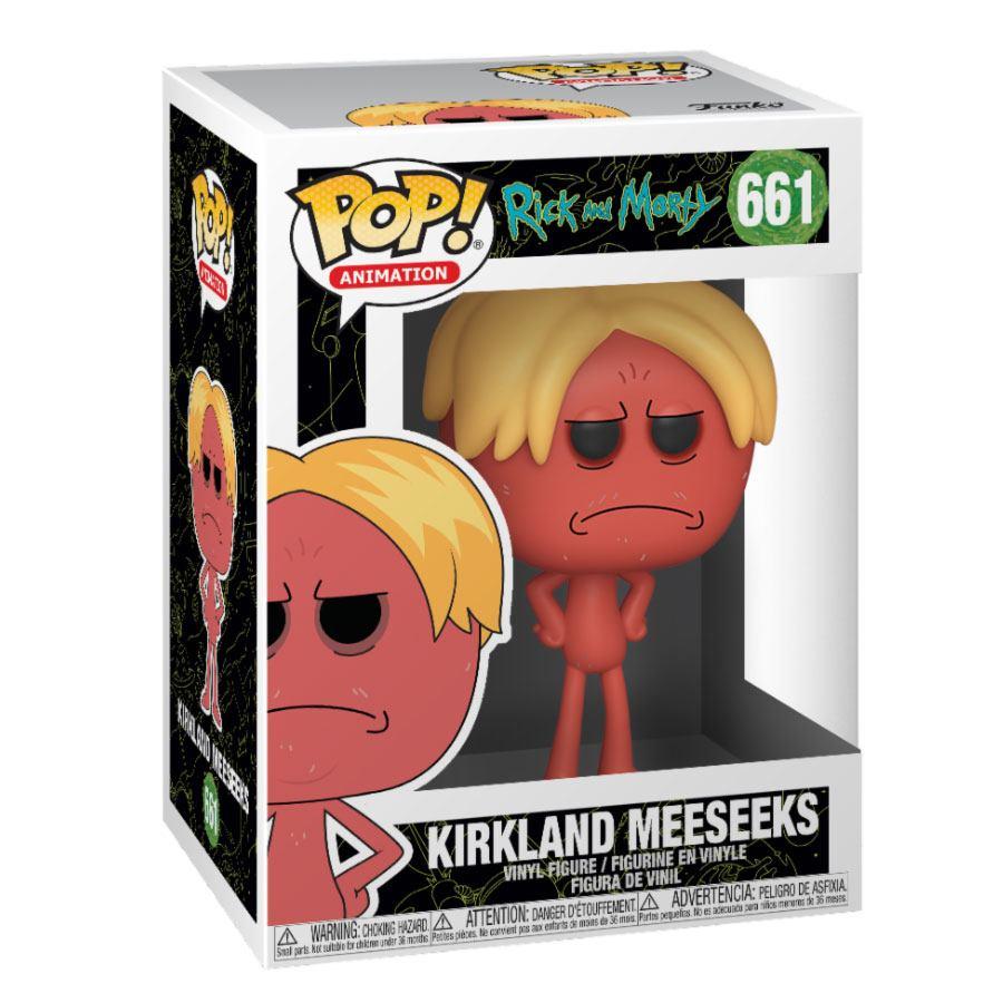 Rick and Morty POP! Animation Vinyl Figure Kirkland Meeseeks 9 cm