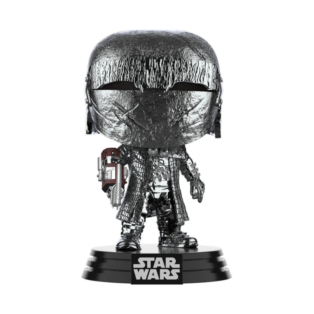 Star Wars POP! Movies Vinyl Figure KOR Cannon (Chrome) 9 cm