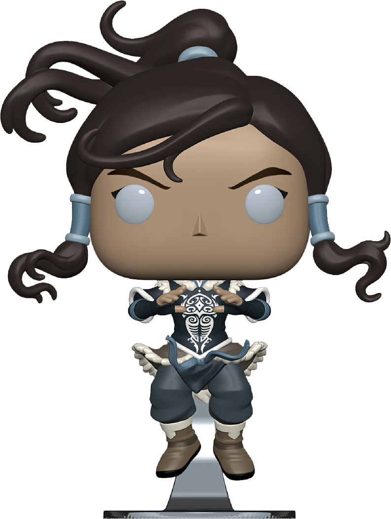 The Legend of Korra POP! Animation Vinyl Figure Korra in Avatar State Limited 9 cm