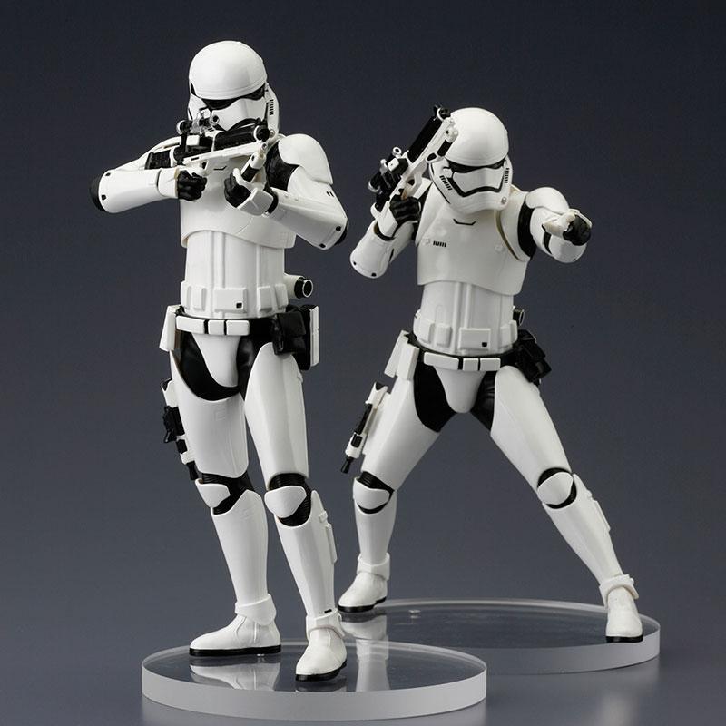 Star Wars The Force Awakens: First Order Stormtrooper ARTFX+ 2-pack