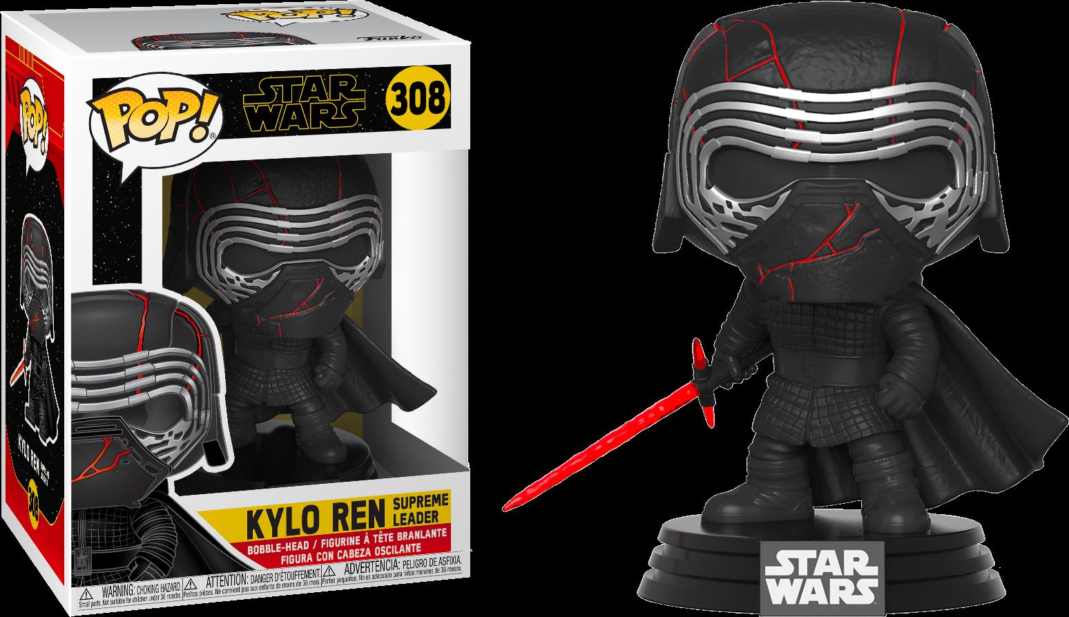 Star Wars Episode IX POP! Movies Vinyl Figure Kylo Ren Supreme Leader 9 cm
