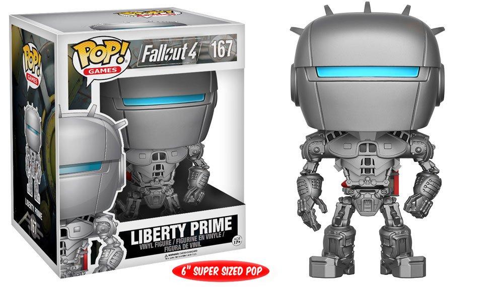 Fallout 4 POP! Games Vinyl Figure Liberty Prime 15 cm