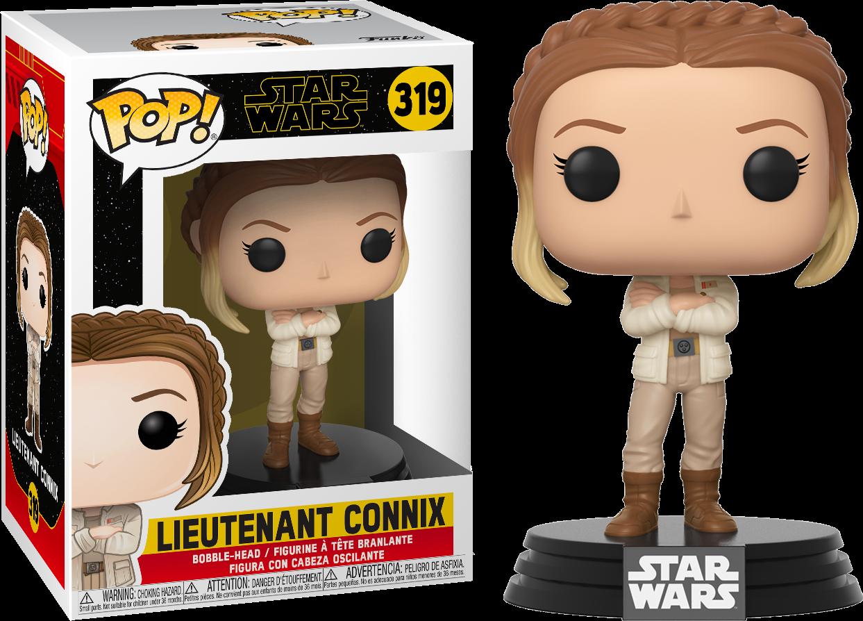 Star Wars Episode IX POP! Movies Vinyl Figure Liutenant Connix 9 cm