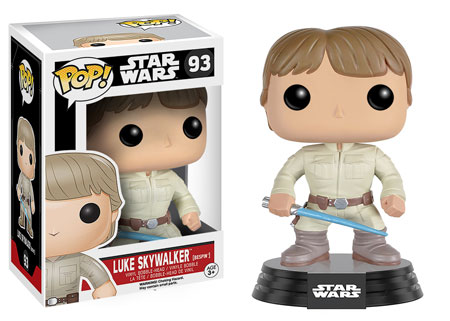 Star Wars POP! Vinyl Bobble-Head Figure Luke Skywalker (Bespin) 9 cm
