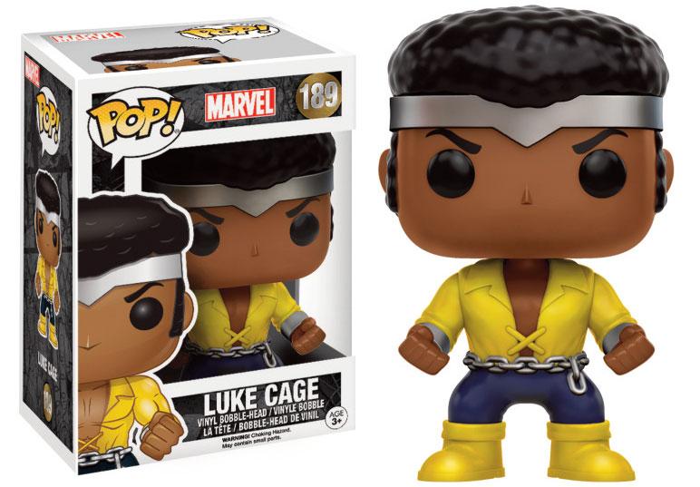 Marvel Comics POP! Marvel Vinyl Bobble-Head Luke Cage 9 cm