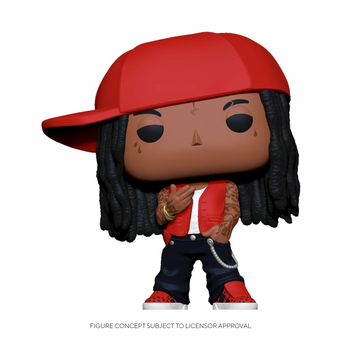 Lil Wayne POP! Rocks Vinyl Figure 9 cm