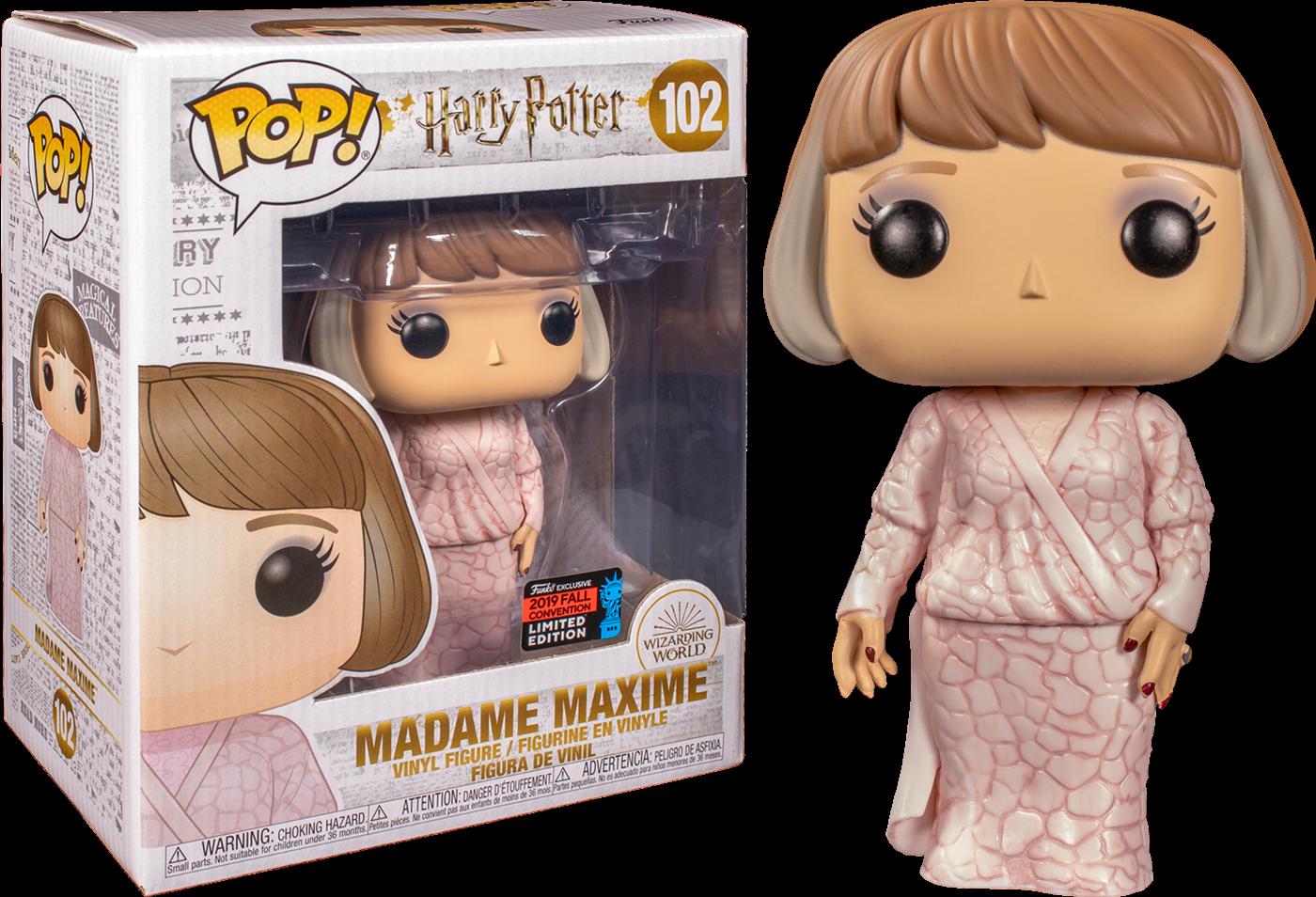 Harry Potter! Vinyl Figure Supersized Madame Maxime Exclusive Edition 15 cm (con bollino Fall Convention 2019)