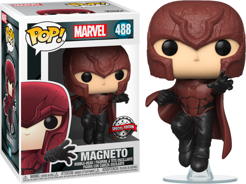 X-Men 20th Anniversary POP! Marvel Vinyl Figure Young Magneto Limited 9 cm