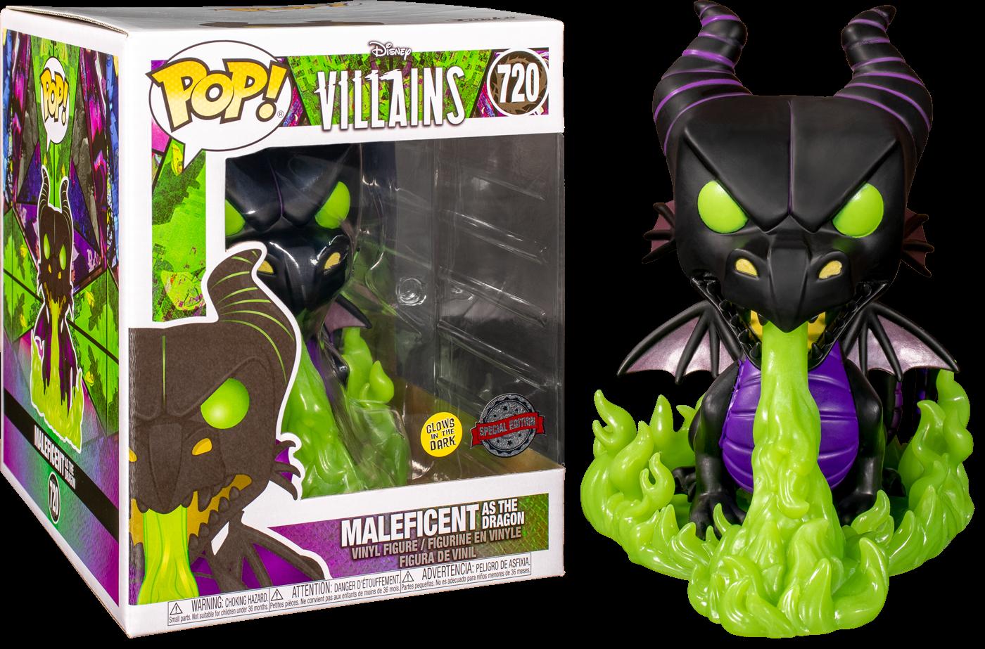 Disney Villains POP! Supersized Vinyl Figure Maleficent as The Dragon Glow in the Dark Limited 15 cm