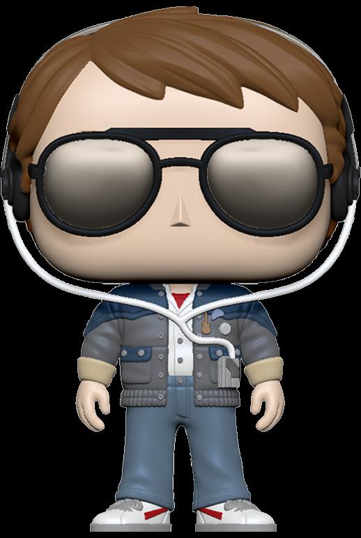 Back to the Future POP! Vinyl Figure Marty w/glasses 9 cm