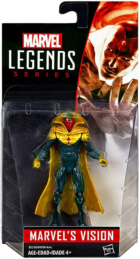 Marvel Legends 2016 Wave 2 Marvels Vision Action Figure 10 cm