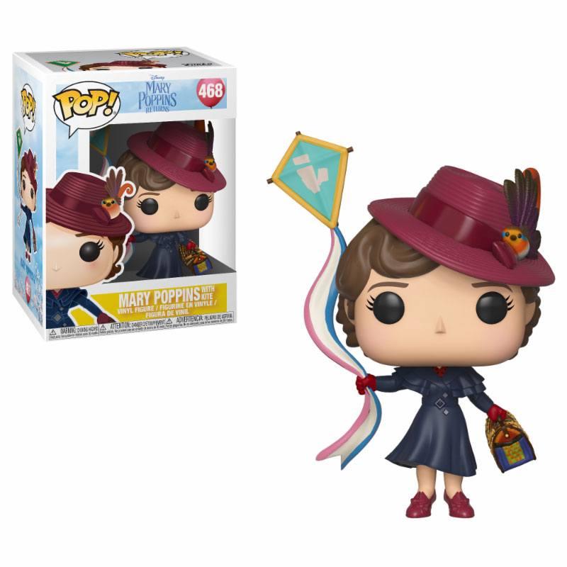Mary Poppins 2018 POP! Disney Vinyl Figure Mary with Kite 9 cm