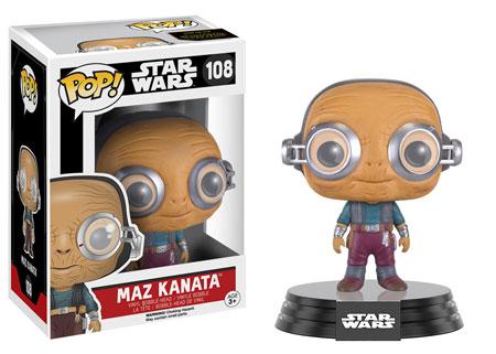 Star Wars Episode VII POP! Vinyl Bobble-Head Figure Maz Kanata 9 cm