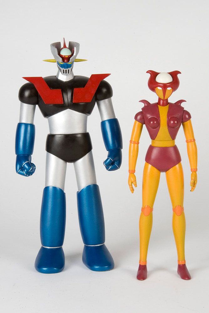 Mazinger Z and Aphrodite Action Figure 2-Pack