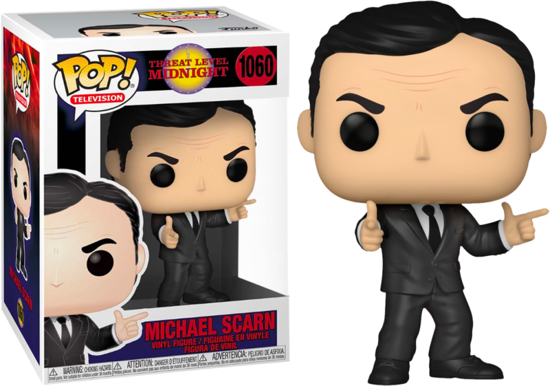 "The Office POP! TV Vinyl Figure Micheal Scarn ""Threat Level Midnight"" Limited 9 cm"