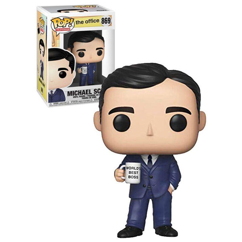 The Office US POP! TV Vinyl Figure Michael Scott 9 cm