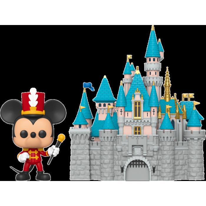Disneyland: 65th Anniversary POP! Vinyl Figure Mickey Mouse with Sleeping Beauty Castle