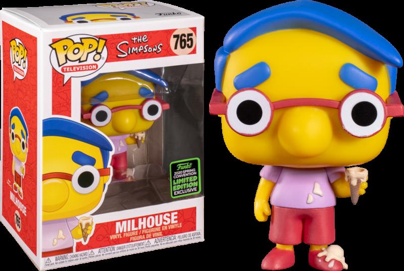The Simpson POP! Animation Figures Milhouse Van Houten Limited 9 cm (con bollino Spring Convention 2020)
