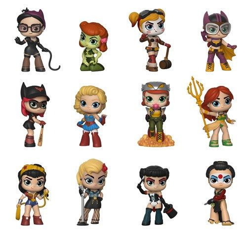 DC Bombshells Mystery Mini Figures 5 cm Display (12)