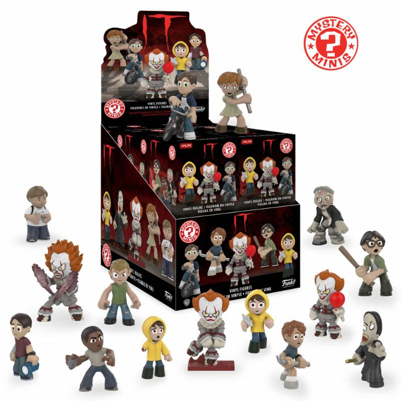 Stephen King's It 2017 Mystery Minis Figures 5 cm Display (12)