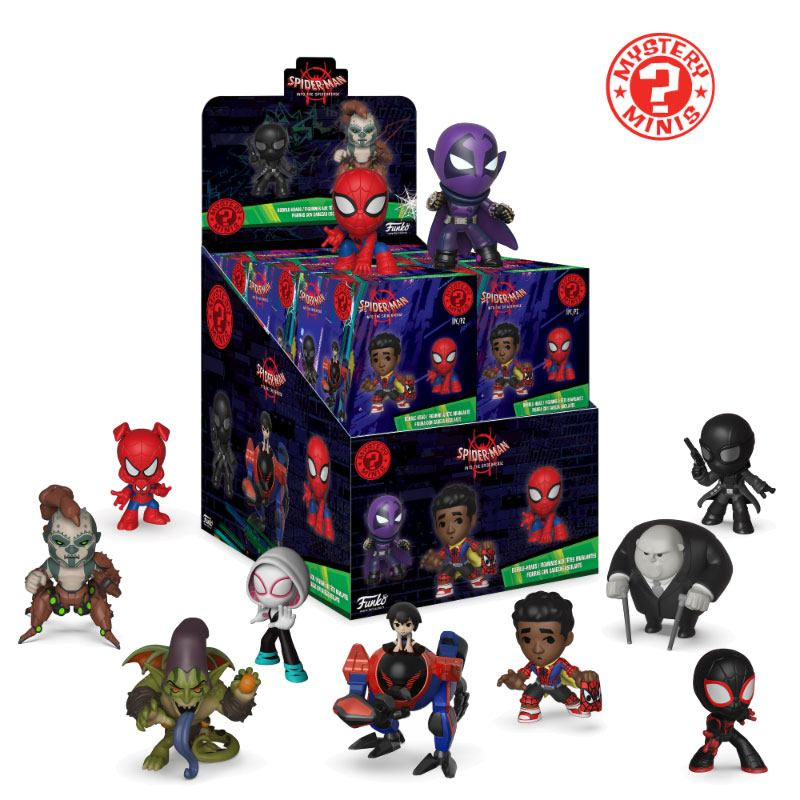 Spider-Man Animated Mystery Mini Figures 5 cm Display (12)