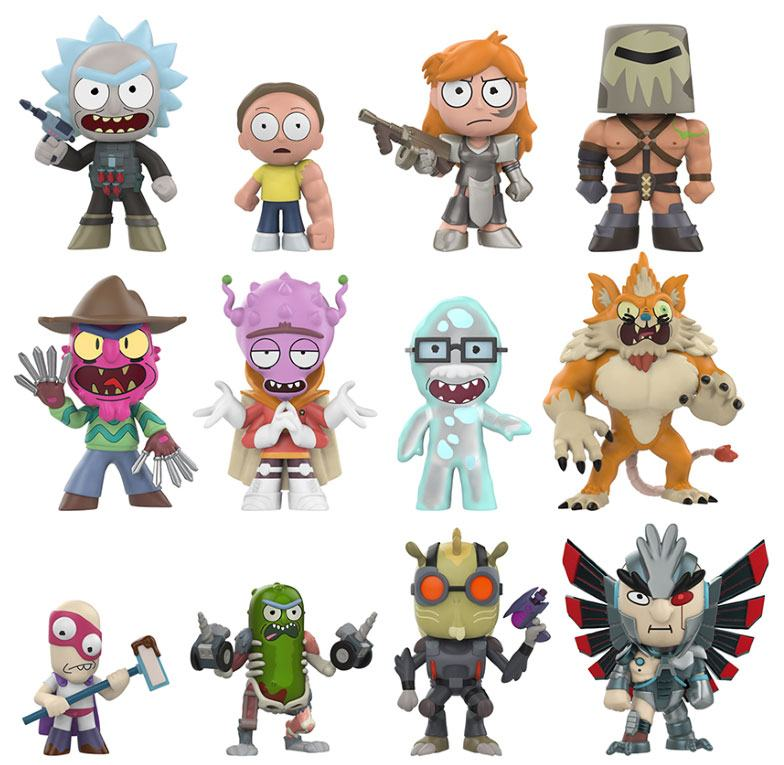 Rick and Morty Mystery Mini Figures 5 cm Display Series 2 (12)