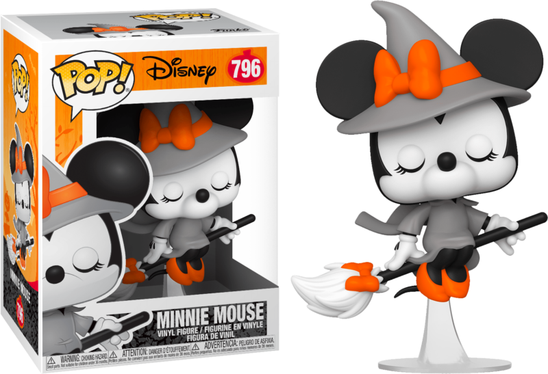 Mickey Mouse POP! Vinyl Figure Witch Minnie Mouse 9 cm