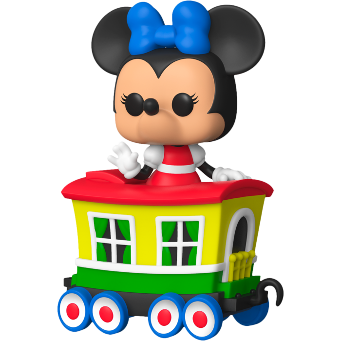 Disneyland: 65th Anniversary POP! Vinyl Figure Minnie Mouse on the Casey Jr. Circus Train Attraction Limited Edition 9 cm