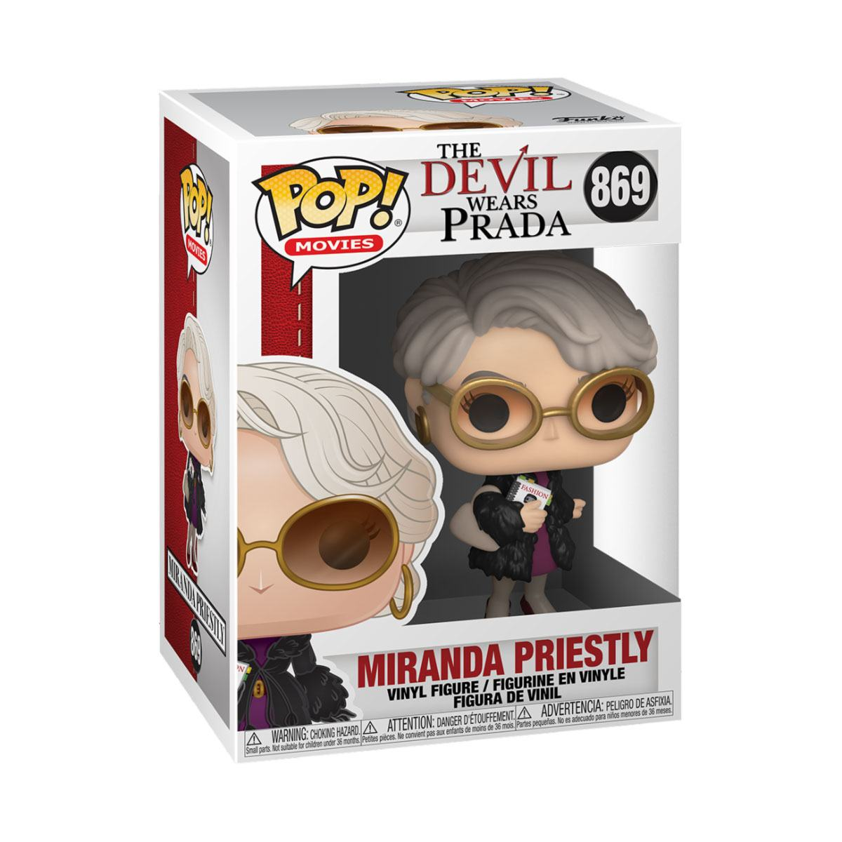The Devil Wears Prada POP! Movies Vinyl Figure Miranda Priestly 9 cm