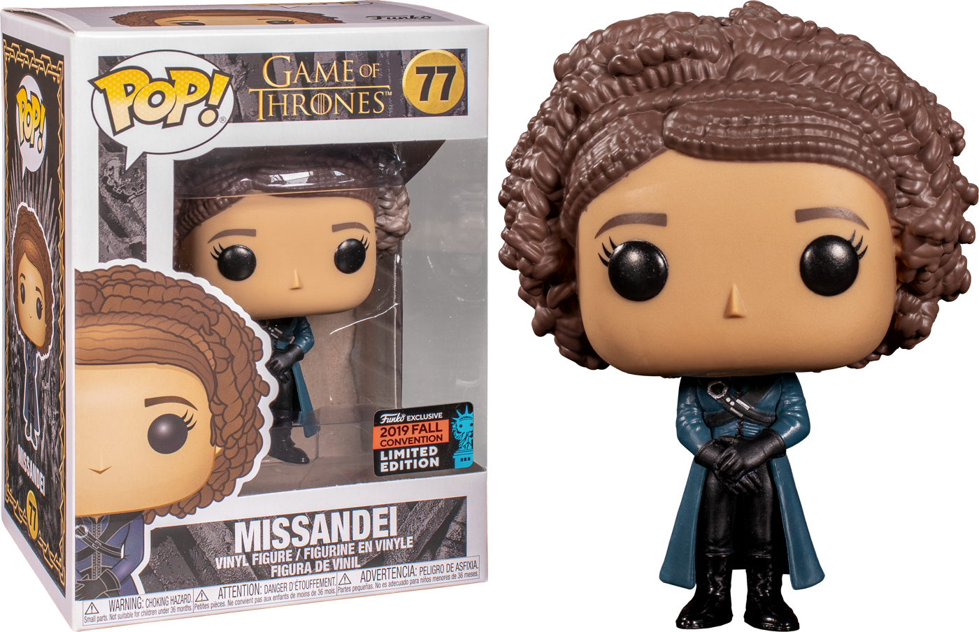 Game of Thrones! Vinyl Figure Missandei Exclusive Edition 9 cm (con bollino Fall Convention 2019)