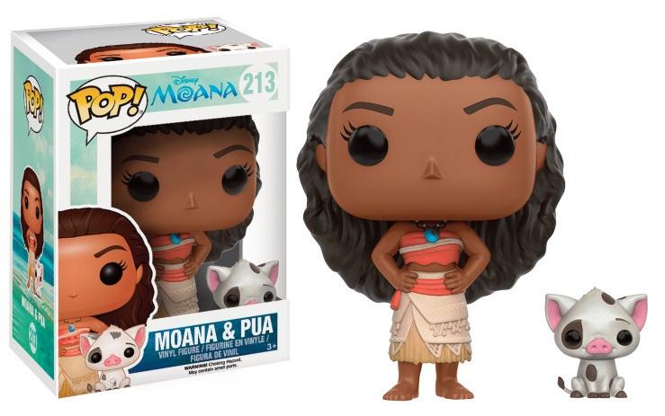 Moana POP! Disney Vinyl Figure Moana & Pua 9 cm
