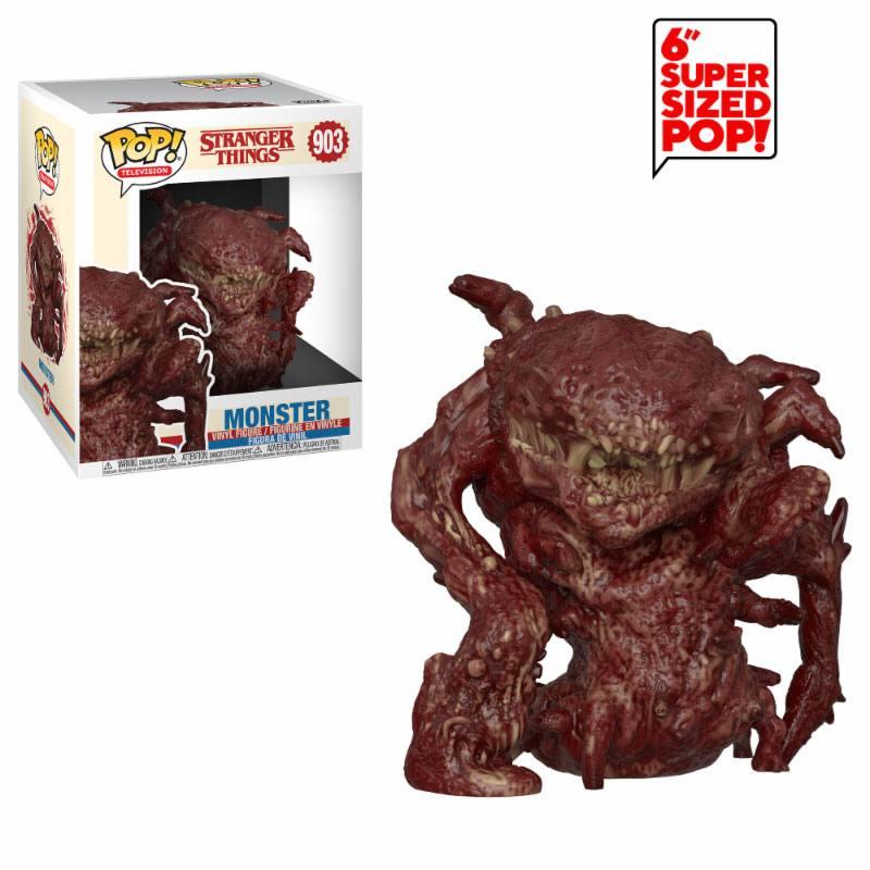 Stranger Things Super Sized POP! TV Vinyl Figure Monster 15 cm
