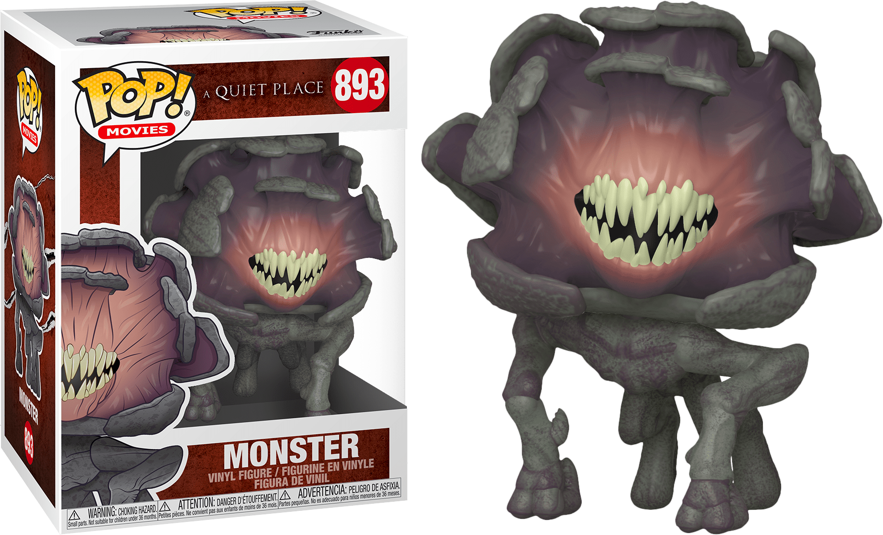 A Quiet Place POP! Movies Vinyl Figure Monster 9 cm