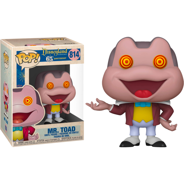 The Adventures of Ichabod and Mr. Toad POP! Vinyl Figure Disneyland 65th Anniversary - Mr. Toad with Spinning Eyes