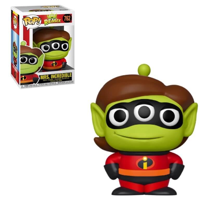 Pixar POP! Disney Vinyl Figure Alien as Elastigirl 9 cm