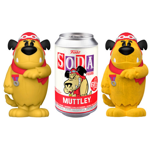 Hanna Barbera POP! Movies Vinyl SODA Figures Muttley 11 cm Assortment (2)